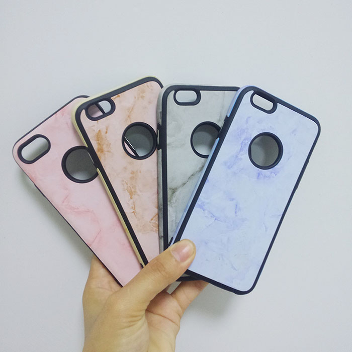 Ultra Thin Marble Soft Rubber TPU Phone Case