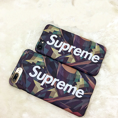 camouflage superme phone case