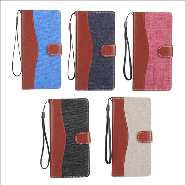 Luxury PU Leather Wallet Card Case