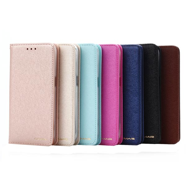Luxury Slim Leather Case Magnetic Flip Stand Card Wallet Cover