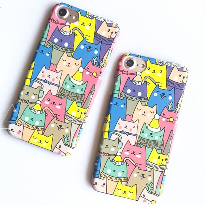 cartoon PC hard phone case for Iphone ,Samsung