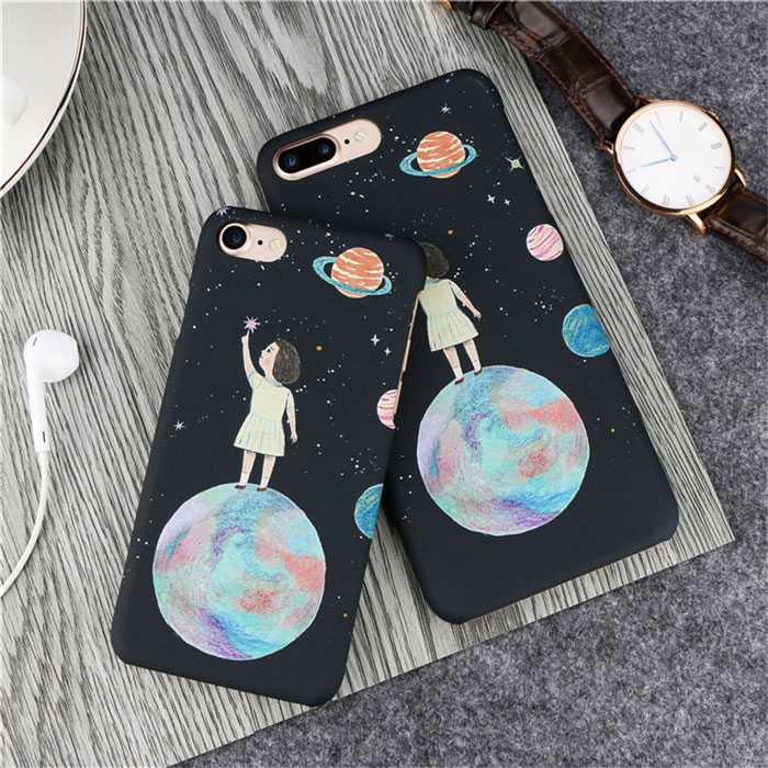 PC Cute hard pretty phone case for Iphone ,Samsung