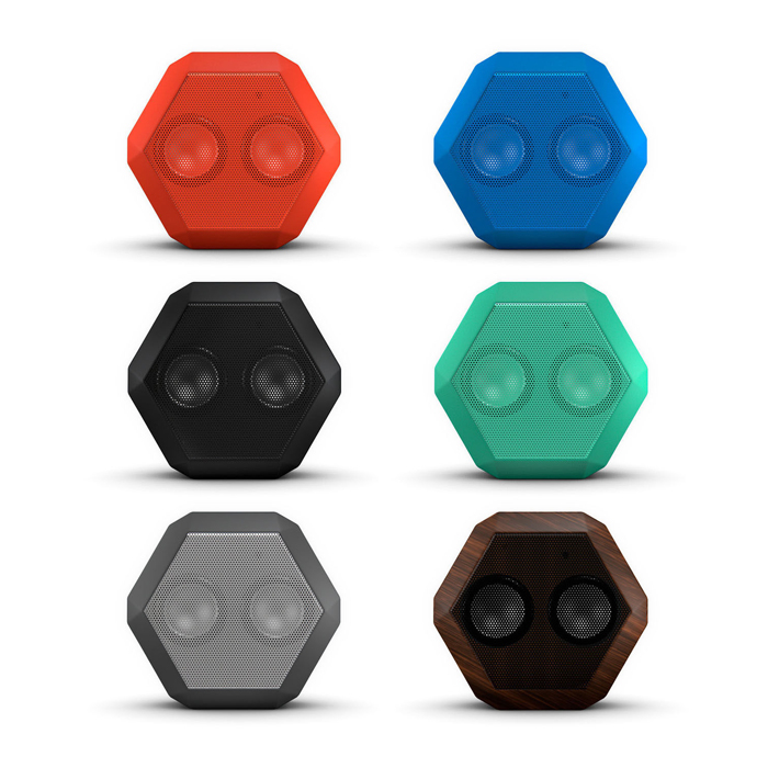 Boombotix Boombot Rex Ultra Portable Wireless Bluetooth Speaker