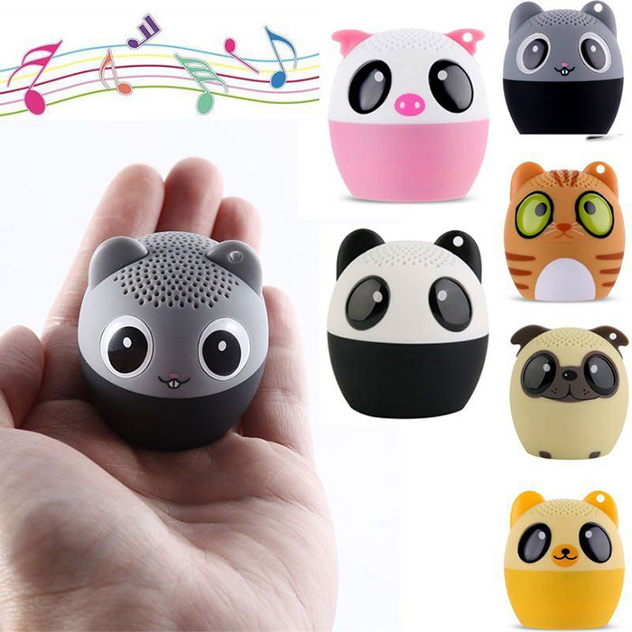 Mini Portable Bluetooth Wireless Animal Pet Speaker