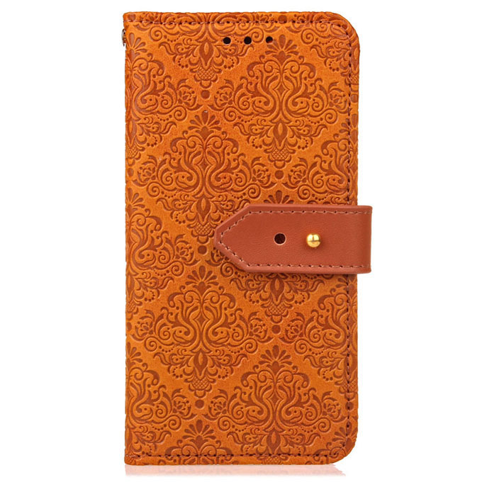 Luxury Leather Magnetic Flip Card Wallet Cover Case For iPhone Samsung