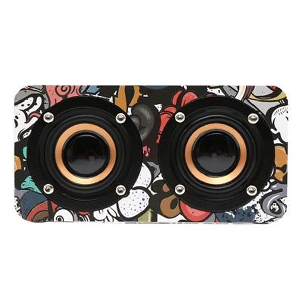 Wooden Bluetooth 4.0 Speaker Wireless Portable Outdoor Stereo Bass HIFI Speakers