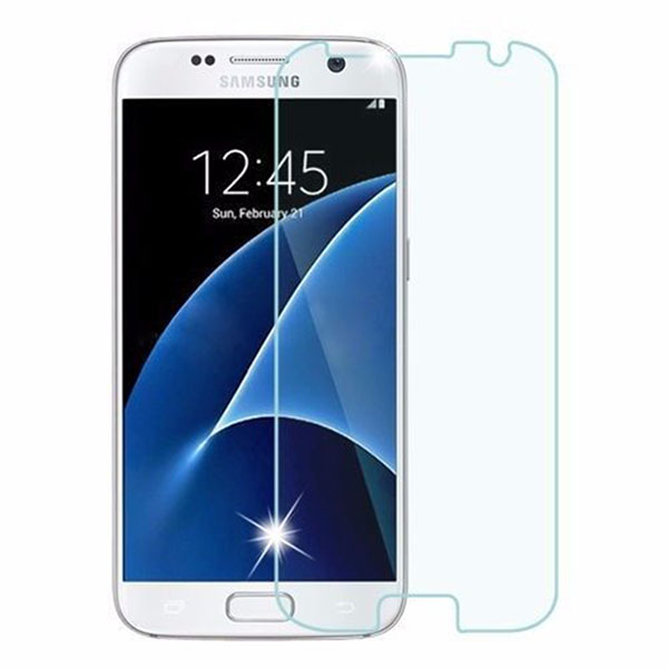2 Pack Tempered Glass Screen Protector Film 2.5D for Samsung Galaxy S7