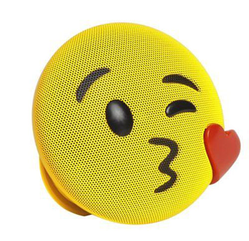 Kiss Emoji Rechargeable Bluetooth Wireless Speaker