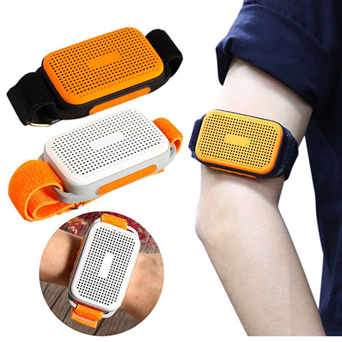 Waterproof Portable Bluetooth Wireless Stereo Sport Speaker Arm Belt Selfie free